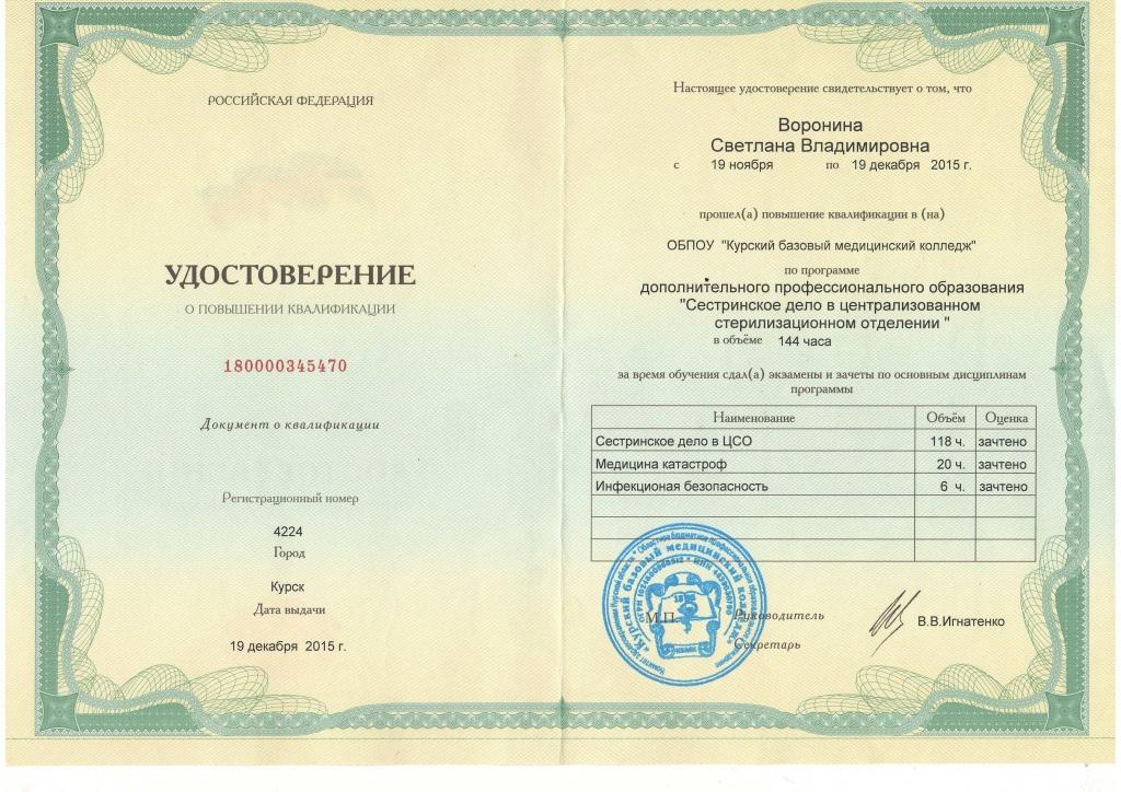 пробы курсы повышения квалификации в медколледжах москвы сестринская косметология комнату